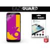 Samsung Galaxy J6 (2018) SM-J600F, Kijelzővédő fólia (az íves részre NEM hajlik rá!), Eazy Guard, Clear Prémium / Matt, ujjlenyomatmentes, 2 db / csomag