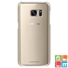 Samsung Galaxy S7 átlátszó tok, Arany tok és táska