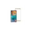 Samsung GALAXY S8 arany TELJES képernyős hajlított védőüveg, kijelzővédő fólia üvegből, karcálló edzett üveg, üvegfólia