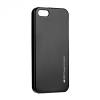 Samsung Galaxy S8 Plus SM-G955, TPU szilikon tok, Mercury i-Jelly, matt hatású, fekete