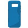 Samsung Galaxy S8 Plus SM-G955, TPU szilikon tok, S-line, kék