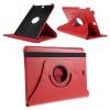 Samsung Galaxy Tab A 10.1 (2016) SM-P580 / P585, mappa tok, elforgatható (360°), piros