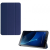 Samsung Galaxy Tab A 10.1 (2016) SM-T580 / T585, mappa tok, Trifold, sötétkék