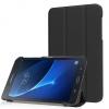 Samsung Galaxy Tab A 7.0 SM-T280 / T285, mappa tok, Trifold, fekete