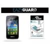 Samsung Galaxy Wave Y S5380, Képernyővédő fólia, 2 db / csomag, Crystal / Antireflex