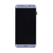 Samsung Gyári Samsung G925 S6 Edge Plus LCD modul ezüst színben ORG mobiltelefon kellék
