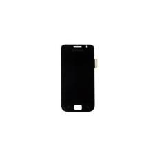 Samsung Gyári Samsung i9001 S1 Plus LCD modul fekete színben mobiltelefon kellék