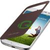 Samsung I9500 Galaxy S4 barna ablakos tok EF-CI950BAEG