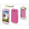 Samsung i9500 Galaxy S4 hátlap Muvit miniGel pink