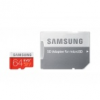 Samsung MB-MC64DA/EU MEMÓRIA KÁRTYA TransFlash 64GB (microSDHC EVO plus, Class 10) + SD adapter