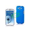 Samsung Momax ultra vékony átlátszó kék hátlapvédő Samsung I9300 Galaxy S3