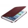 Samsung N5100 Galaxy Note 8.0 oldalra nyíló támasztós szövetbevonatos fliptok bordó (EF-BN510BRE)*