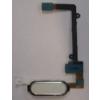 Samsung N915 Galaxy Note Edge home gomb átvezető fóliával fehér