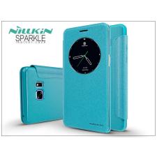 Samsung N930F Galaxy Note 7 oldalra nyíló flipes tok - Nillkin Sparkle - kék tok és táska