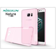 Samsung N930F Galaxy Note 7 szilikon hátlap - Nillkin Nature - pink tok és táska