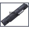 Samsung NT-RC708 4400 mAh 6 cella fekete notebook/laptop akku/akkumulátor utángyártott