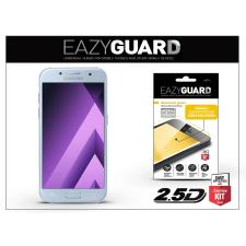 Samsung Samsung A320F Galaxy A3 (2017) gyémántüveg képernyővédő fólia - Diamond Glass 2.5D Fullcover - kék mobiltelefon kellék
