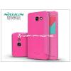 Samsung Samsung A710F Galaxy A7 (2016) oldalra nyíló flipes tok - Nillkin Sparkle - pink