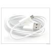 Samsung Samsung gyári micro USB adat- és töltőkábel - EP-DG925UWZ/UWE white (csomagolás nélküli)