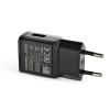 Samsung Samsung gyári USB hálózati töltő adapter - 5V/2A - EP-TA200EBE black - Adaptive Fast Charging (ECO csomagolás)