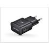 Samsung Samsung gyári USB hálózati töltő adapter - 5V/2A - EP-TA20EBE black - Adaptive Fast Charging (ECO csomagolás)