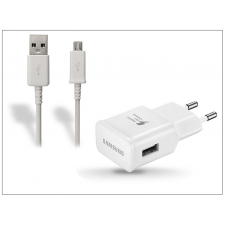 Samsung Samsung gyári USB hálózati töltő adapter + micro USB adatkábel - 5V/2A - EP-TA20EWE + ECB-DU4AWE/EWE white (csomagolás nélküli) kábel és adapter