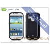 Samsung Samsung i8190 Galaxy S III Mini hátlap - Case-Mate Barely There Brushed Aluminium - black