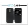 Samsung Samsung SM-G800 Galaxy S5 Mini S View Cover flipes hátlap - utángyártott - fekete