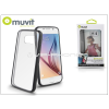 Samsung Samsung SM-G920 Galaxy S6 hátlap - Muvit MyFrame - black/transparent