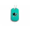 San Jose Sharks függő Dog Tag