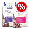 Sanabelle 2x10kg Sanabelle száraz macskatáp vegyes csomagban-Adult szárnyas & strucc