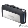 Sandisk 128GB USB3.0/Type-C Dual Drive Fekete-Ezüst (173339) Flash Drive