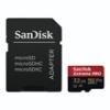 Sandisk 173427 microSDHC Extreme Pro memóriakártya 32 GB, 100 MB/sec, CL10, UHS-I, V30, A1