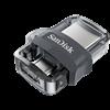 Sandisk 32 GB Pendrive USB 3.0 + mikro-USB Ultra Dual Drive M3.0 (SDDD3-032G-G46)