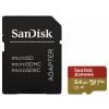 Sandisk Extreme microSDXC V30 A1 64GB + adapter