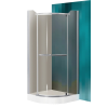 Sanipro Denver 80x80 cm-es zuhanykabin Dream P tálcával