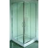 Sanotechnik Cikkszám: B1380C szögletes sarok zuhanykabin 2 tolóajtóval, króm 80-as