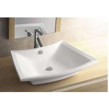 Sanotechnik K815 Design mosdó, síklapos, íves fürdőkellék