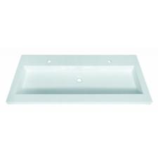 Sanotechnik 'Ráépíthető dupla öntöttmárvány mosdó' fürdőkellék