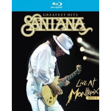 SANTANA - Greatest Hits Live At Montreux 2011 /blu-ray/ BRD zene és musical