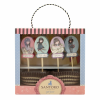 Santoro Cupcake Szett- Gorjuss- Sweet Tea, Sweet Cake  - 641GJ01