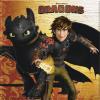 Sárkányok Dragons, Sárkányok szalvéta 20 db-os