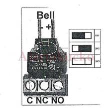 SATALARM SA52/62/SA816 RELAY, relé biztonságtechnikai eszköz
