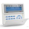 Satel INT-KLCDR-BL LCD kezelő INTEGRA központokhoz kártyaolvasóval és lenyíló billentyűzetvédővel kék