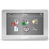 """Satel INT-TSH-SSW 7""""; érintőképernyős kezelő; ezüst előlap, ezüst keret, fehér hátlap"""