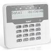 Satel VERSA-LCDR-WH LCD kezelő VERSA központokhoz; fehér háttérfény; beépített kártyolvasó
