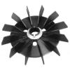 Saviplast villanymotor alkatrész Saviplast Villanymotor ventilátor lapát VA MEC 63 D15