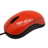 SBOX M-900B USB optikai egér piros