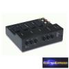 SCART kapcsoló pult audio / video, 4 x SCART + 6 x RCA