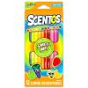 Scentos Illatos 12 darabos színes ceruza - élénk színek